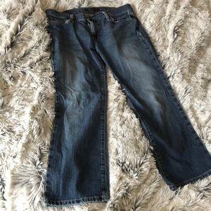 American Eagle crop jeans size 10